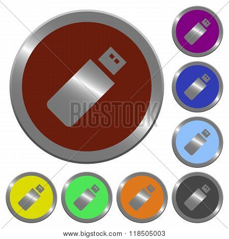 Color Pendrive Buttons