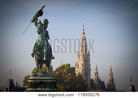 Archduke Charles Of Austria, Duke Of Teschen Monument.
