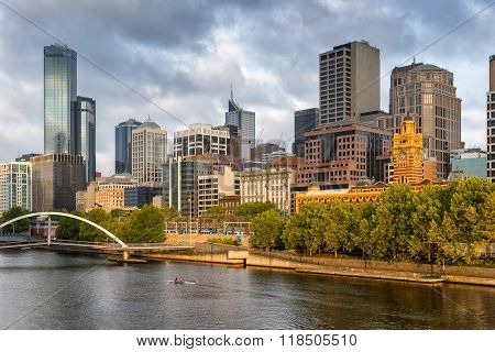 Melbournes Northbank