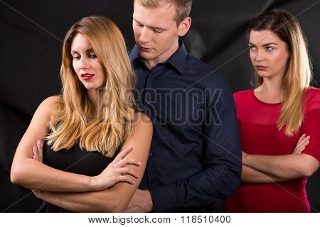 Man With Mistress