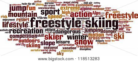 Freestyle Skiing Word Cloud