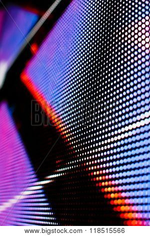 Bright Colored Blue And Red Led Smd Screen
