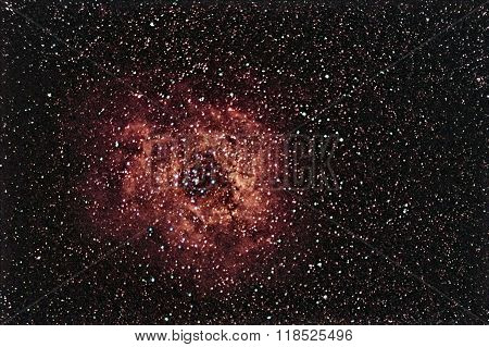 Rosette Nebula beautiful night sky The Rose of Night Sky
