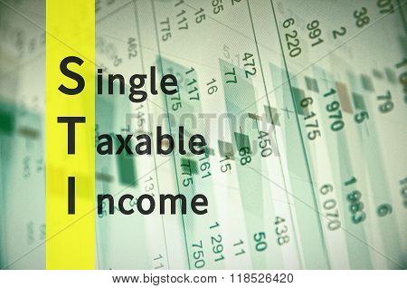 Single Taxable Income