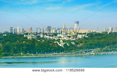 Panorama Of Kiev, Ukraine