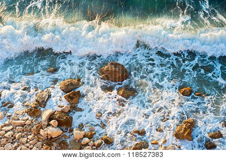 Rocky Sea Beach, Background