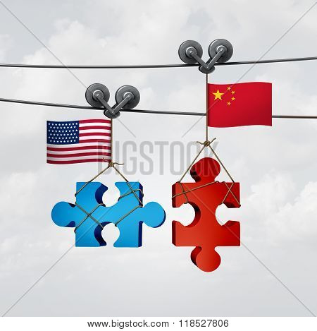 American And Chinese Cooperation