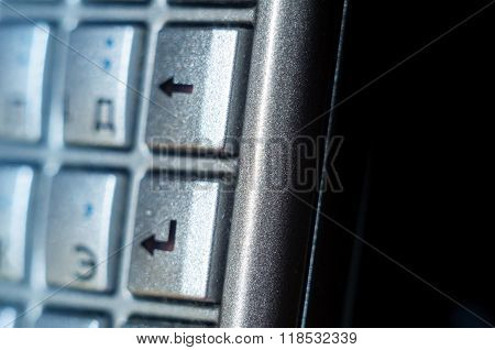Enter Button On Old Smartphone Full Qwerty Keyb