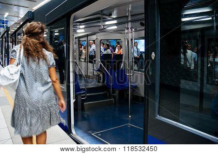 Istanbul Metro Scene