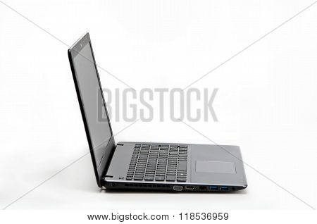 Sideways Laptop