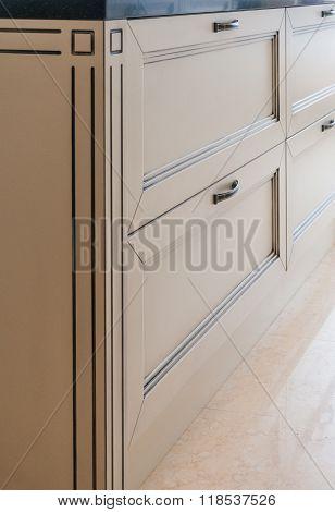 Home decorative furnishings, door sideboard