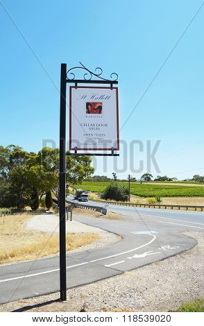 St Hallett Winery, Barossa Valley.
