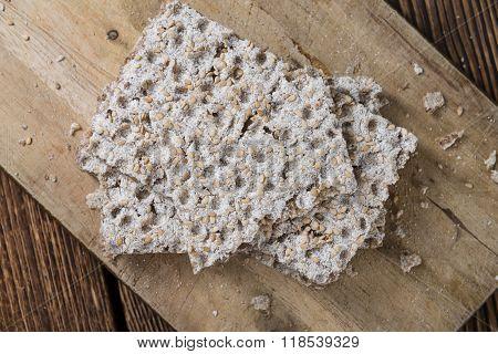 Portion Of Crispbread