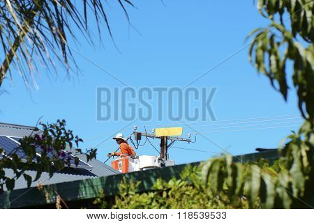 Electricity Repair And Maintenance.