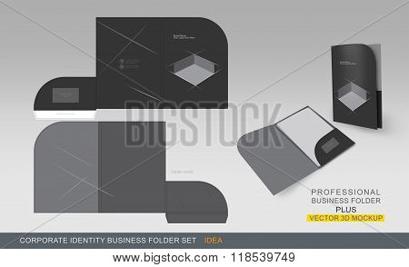 Corporate Identity Business Folder-concept 07