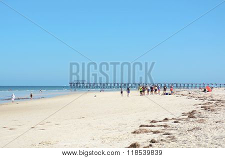 Henley Beach, South Australia.