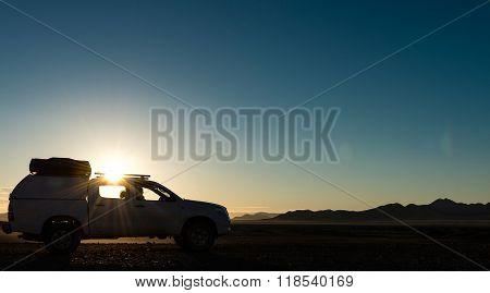 Sunrise In The Desert (near Sossusvlei, Namibia)