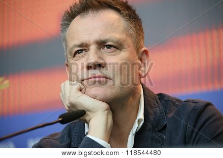 Michael Grandage  attends the 'Genius' press conference during the 66th Berlinale International Film Festival Berlin at Grand Hyatt Hotel on February 16, 2016 in Berlin, Germany.