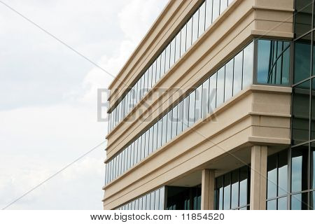 Modern highrise city office building