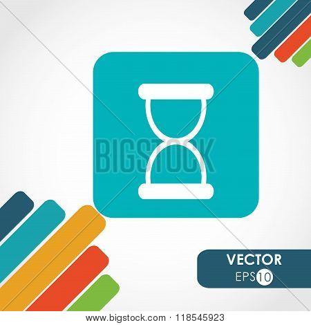 hourglass icon design