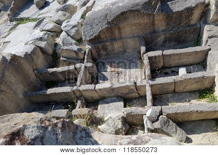 The ancient city Perperikon, in South Bulgaria next to Kardzhali