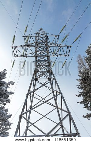 Reliance High-voltage Electrical Line.