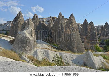 Landscape With Rock Formations - Cappadocia