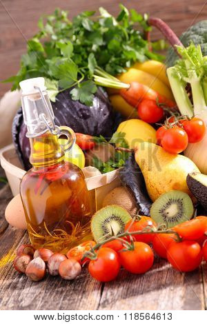 fruit and vegetable, diet food