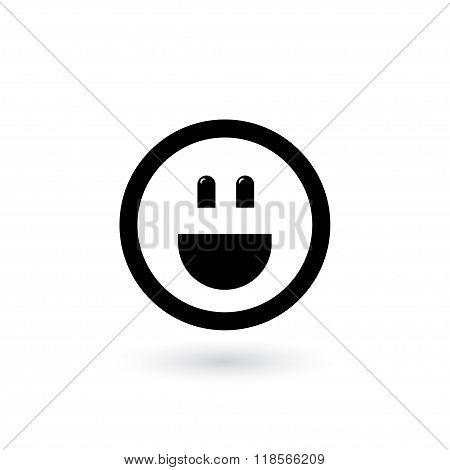 broad smile