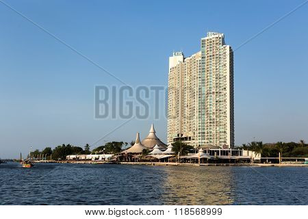 Modern Building On Ancol, Jakarta