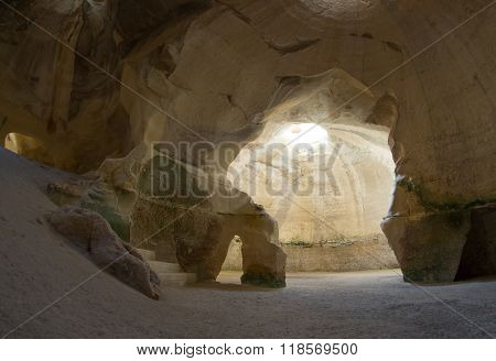 Caves In Beit Guvrin, Israel