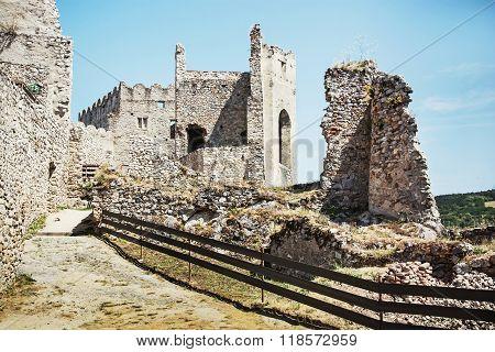 Ruins Of Beckov Castle, Slovak Republic, Travel Destination