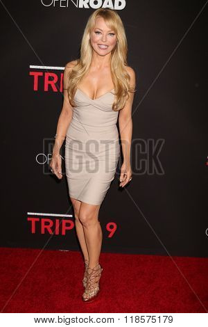 LOS ANGELES - FEB 16:  Charlotte Ross at the Triple 9 Premiere at the Regal 14 Theaters on February 16, 2016 in Los Angeles, CA