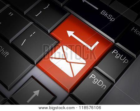 Red Batton Send E-mail