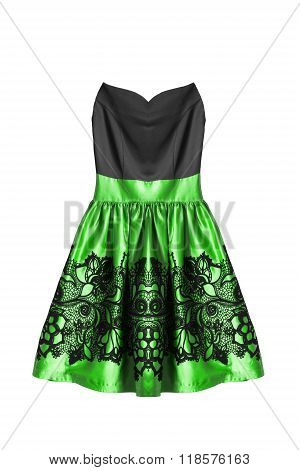 Cocktail Dress Isolated