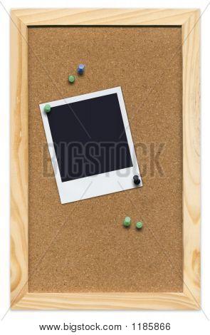 Corkboard With Empty