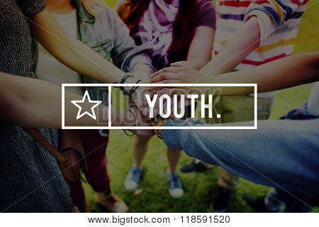 Youth Young Teens Generation Adolescence Concept