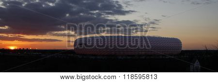 MUNICH, GERMANY - MARCH 11 2015: A general view before the UEFA Champions League match between Bayern Munich and FC Shakhtar Donetsk.