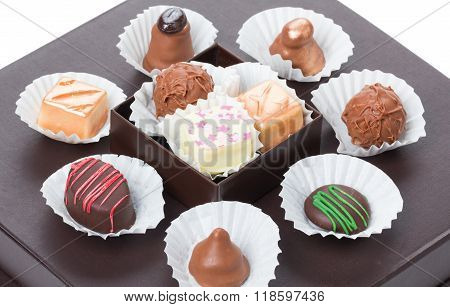 Chocolates And Sweets, Truffles