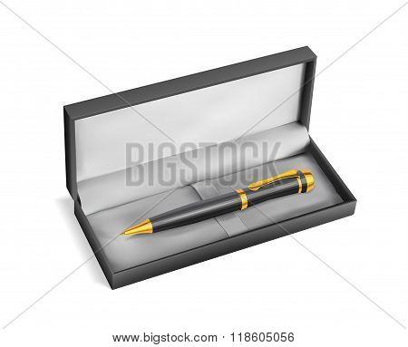Gift Pen In A Shell