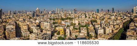 Tel Aviv city panorama