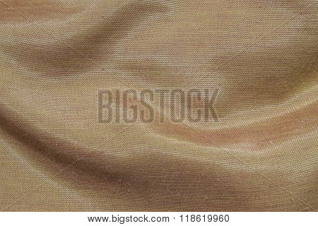 Closeup Brown Fabric Texture Background
