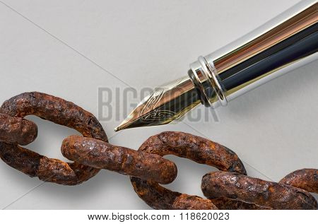 Pen And Chain