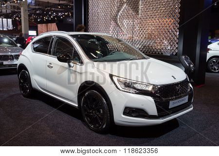 2016 Citroen Ds 4 Crossback