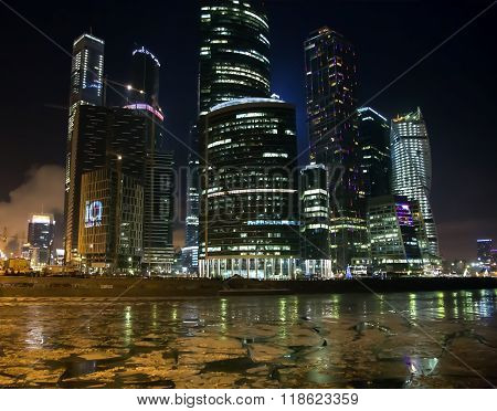 The Moscow international business centre Moscow-city