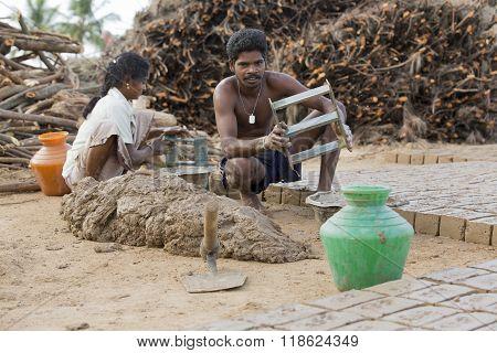 Documentary  Hand Made Bricks In India
