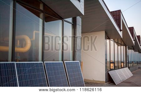 Solar Panels On Balcony