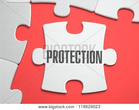 Protection - Puzzle on the Place of Missing Pieces.