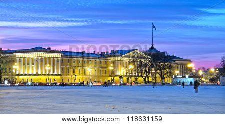Saint-Petersburg. Russia. The Admiralty Building