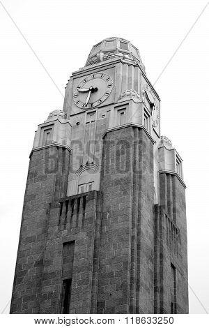 Tower Of Train Station In Helsinki.